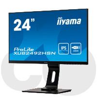Créez un bureau à domicile clair avec l'écran iiyama ProLite