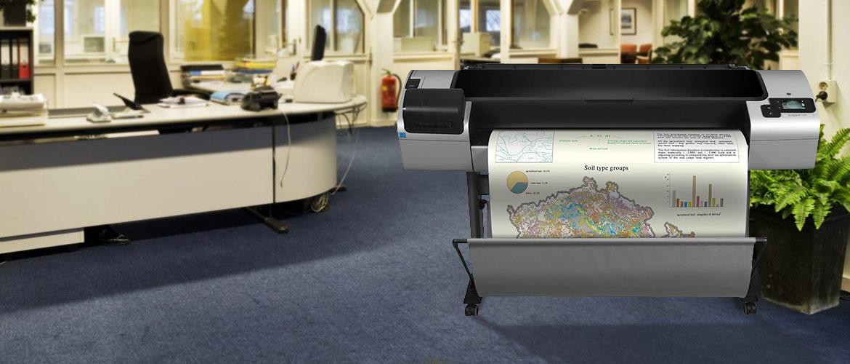 HP DesignJet printer met garantie