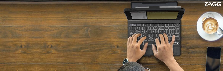 Verhoog uw productiviteit onderweg met de keyboards van ZAGG