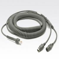 Zebra Keyboard Wedge Cable CBA-K08-C20PAR Câbles KVM - Gris