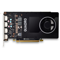 HP NVIDIA Quadro P2200 5 Go (4)DP GFX Carte graphique