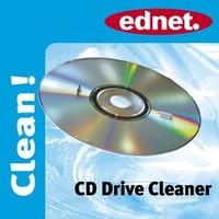 Ednet CD Drive Cleaner Kit de nettoyage pour ordinateur