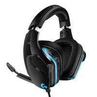 Logitech G G635 gaming LIGHTSYNC avec son surround 7.1 Casque - Noir,Bleu