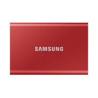 Samsung Portable SSD T7 - Rouge