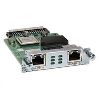 Cisco VWIC3-2MFT-T1/E1= Module de réseau voix
