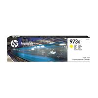 HP 973X originele gele high-capacity PageWide cartridge Inktcartridge - Geel