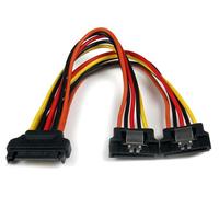 StarTech.com Câble répartiteur en Y d'alimentation SATA vers 2 SATA avec verrouillage - .....