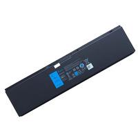 2-Power 6400mAh, 7.4V, 47Whr, 4-Cell, Dell Latitude E7440 Laptop reserve onderdelen - Zwart