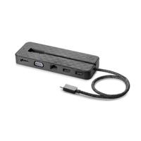 HP USB C Mini Dock + 90W Adapter + Power Cord - Zwart
