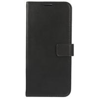 Valenta Leather Booktype Samsung Galaxy S21 Ultra - Zwart - Zwart / Black