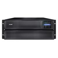 APC Smart-X SMX2200HVNC Noodstroomvoeding - 2200VA, 8x C13, 2x C19 uitgang, USB, short depth, NMC UPS - Zwart