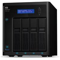 Western Digital PR4100 Serveur de stockage de données - Noir