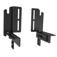 Chief FUSION universal clamp kit, 2 pieces, Black - Noir
