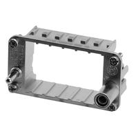 Amphenol Frame for 3-socket modules Multipolaire connectie behuizing - Metallic