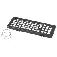 Zebra Keyboard Protection Grill, Black Accessoire de clavier - Noir