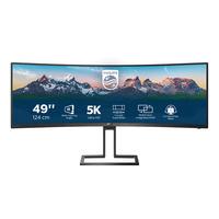 Philips P Line 32:9 SuperWide Curved LCD-scherm Monitor - Zwart