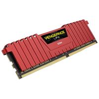 Corsair Vengeance LPX 8GB DDR4-2400 RAM-geheugen - Rood