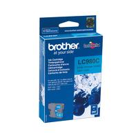 Brother LC-980C cyan Inktcartridge - Cyaan