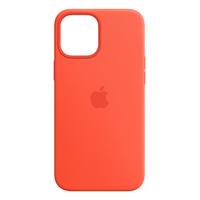 Apple iPhone 12 Pro Max Silicone Case with MagSafe - Electric Orange - Oranje