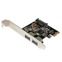 StarTech.com Carte Contrôleur PCI Express (PCI-E) vers Hub Interne 2 ports USB 3.0 - Alimentation SATA .....