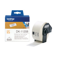 Brother Grote adreslabels papier 38 x 90 mm Labelprinter tape - Wit