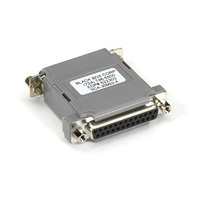 Black Box DB25 F/F Adaptateur de câble - Gris