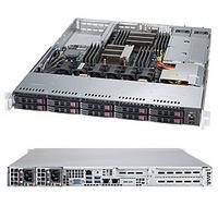 Supermicro 1028R-WTNRT Barebone server - Zwart