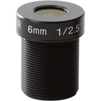 Axis M12, 6 mm, 5 pcs. Lentille de caméra - Noir