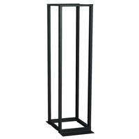 Black Box Flex Depth Rack étagères - Noir