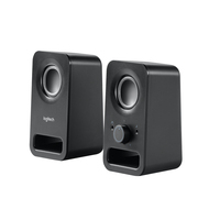 Logitech Z150 Stereo Speakers Helder stereogeluid Luidspreker - Zwart