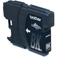 Brother LC-1100BKBP Blister Pack Inktcartridge - Zwart