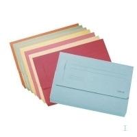 Esselte Pocket-file Folio Blue Map - Geel