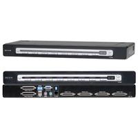 Belkin OmniView PRO3 USB & PS/2 KVM switch - Zwart