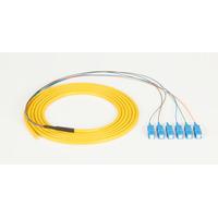 Black Box SC 3m Câble de fibre optique - Jaune