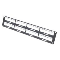 APC Data Distribution 2U Panel, Holds 8 each Data Distribution Cables for a Total of 48 Ports Stellingen/racks - .....