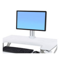 Ergotron Kit pour moniteur LD, unique de WorkFit Accessoires panier multimédia - Blanc