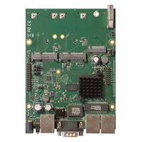 Mikrotik MT7621A 880 MHz, PoE, 19 W, 3 x 10/100/1000 Ethernet ports, 2 x Mini SIM, M.2, MiniPCI-e slots x 2, .....