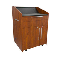 "Middle Atlantic Products L5 Series Preconfigured Lectern, 33"" W x 31"" D x 39"" H, Glamour ....."