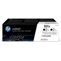 HP 201X 2-pack High Yield Black Original LaserJetCartridges Toner  - Noir