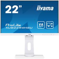 "Iiyama ProLite 21.5"", 1920 x 1080, 250 cd/m², 3000:1, 4 ms, VGA, HDMI, DisplayPort, USB, A+, 488.5 x 352 x 210 ....."