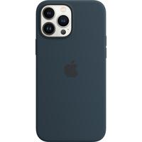 Apple Coque en silicone avec MagSafe pour iPhone 13 Pro Max - Bleu abysse