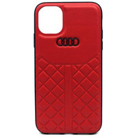 Audi Q8 Leather Backcover iPhone 11 Pro - Rood - Rood / Red Housse de protection téléphones portables