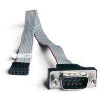 Shuttle Accessory PC0701 1 x COM compatible with SH67H3 SH67H7 and SH61R4. Seriële kabel - Zwart, Grijs