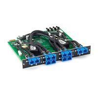 Black Box Pro Switching System Multi Switch Card - Fiber Single-mode, Dual 2-to-1, Latching Netwerkkaart
