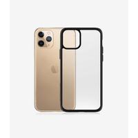 PanzerGlass ClearCase iPhone 11 Pro Max - Black Edition - Zwart,Transparant