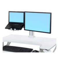 """Ergotron Kit pour LCD et ordinateur portable de WorkFit, ≤ 24"""", 5.4–11.8 kg, VESA Accessoires panier ....."""