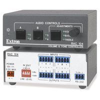 Extron RAC 104 Régulateur de volume - Gris