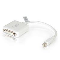 C2G 20cm Mini DisplayPort M / DVI F - Blanc