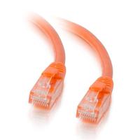 C2G Câble de raccordement réseau Cat5e avec gaine non blindé (UTP) de 0,5M - Orange Câble de réseau