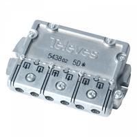 Televes 543802 Répartiteur de câbles - Acier inoxydable